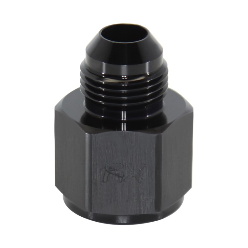 "Adapter, -8AN Male » 1/2"" FPT, BLK"