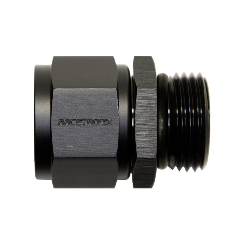 Adapter, -12AN Female»-12 ORB Male, BLK