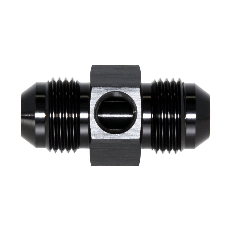 "Union, -8 JIC Male, 1/8"" FPT Port, BLACK"