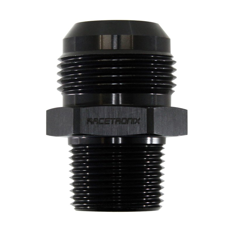 "Adapter, -16AN Male » 3/4"" MPT, BLACK"