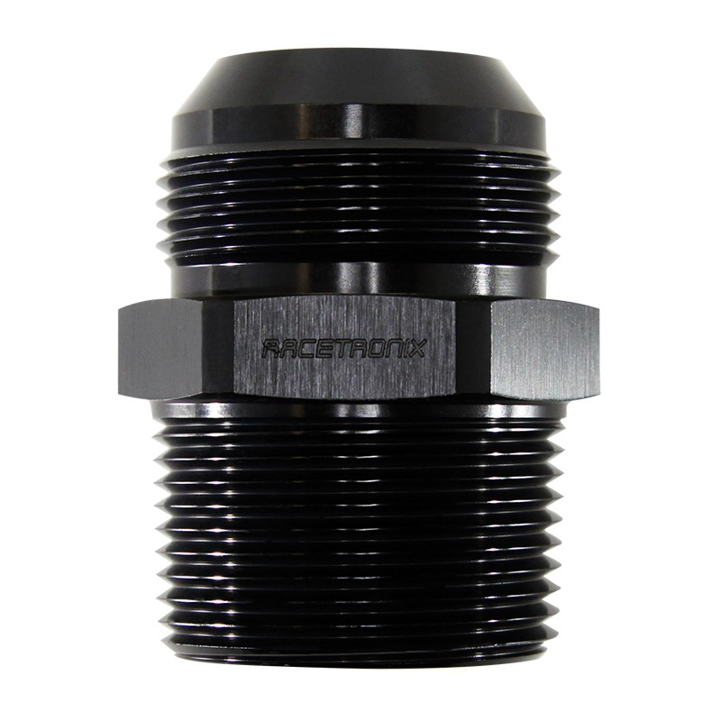 Adapter, -20AN Male » 1-1/4 MPT, BLACK