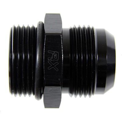 Adapter, -16 ORB Male»-16 AN Male, AL BK
