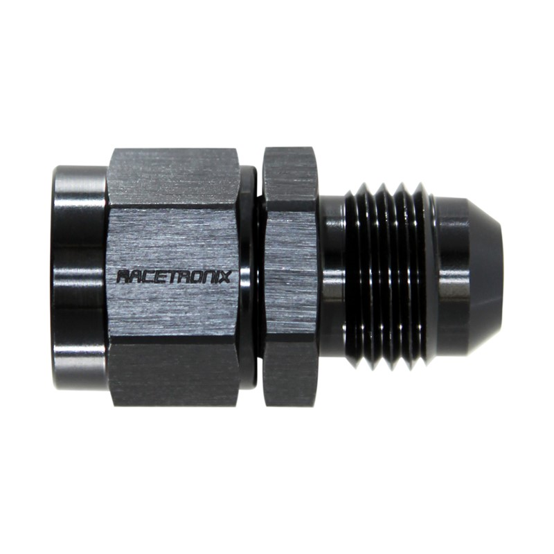 Adapter, -6AN Male » M14x1.5 Female, BLK