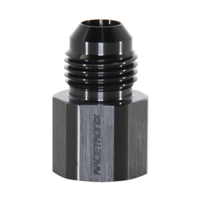 Adapter, -6 JIC AN Male » M14x1.5 Female Inverted Flare, Black