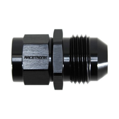 Adapter, -8AN Male » M14x1.5 Female, BLK