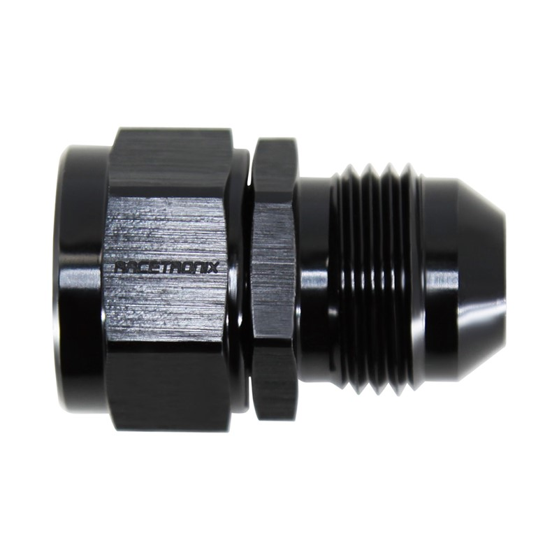 Adapter, -8AN Male » M16x1.5 Female, BLK