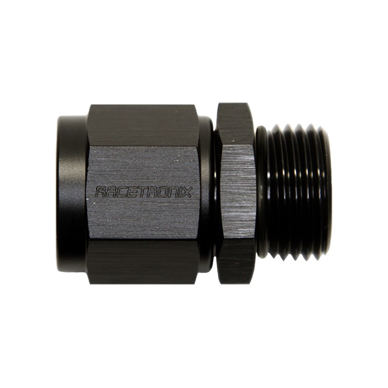 Adapter, -8AN Female » -8 ORB Male, BLK