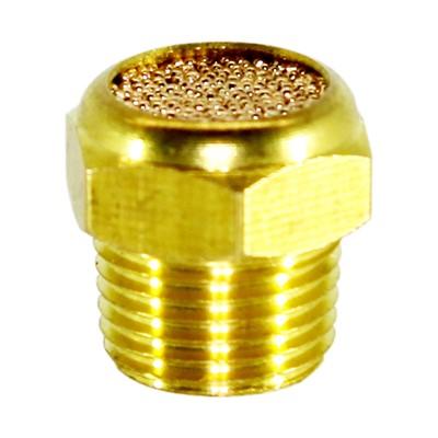 """Breather, 1/8"""" MPT Sintered Brass"""