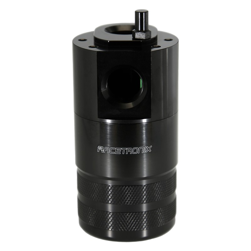Catch Can Kit, Dual -10AN DS, Bracket, Black Image 3
