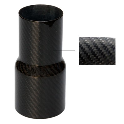 "Carbon Fiber Transition, 2.0-2.5"", CF"