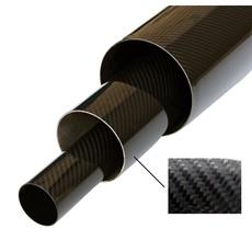 Racetronix Carbon Fiber Tubes  - Straight