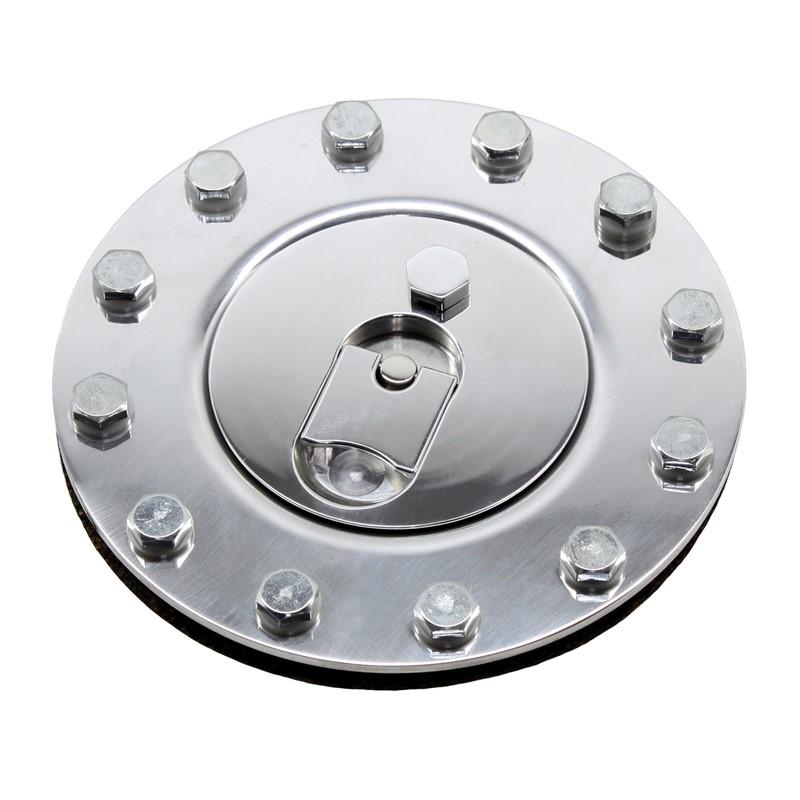 Fuel Cap, Billet Aluminum, SS Hardware