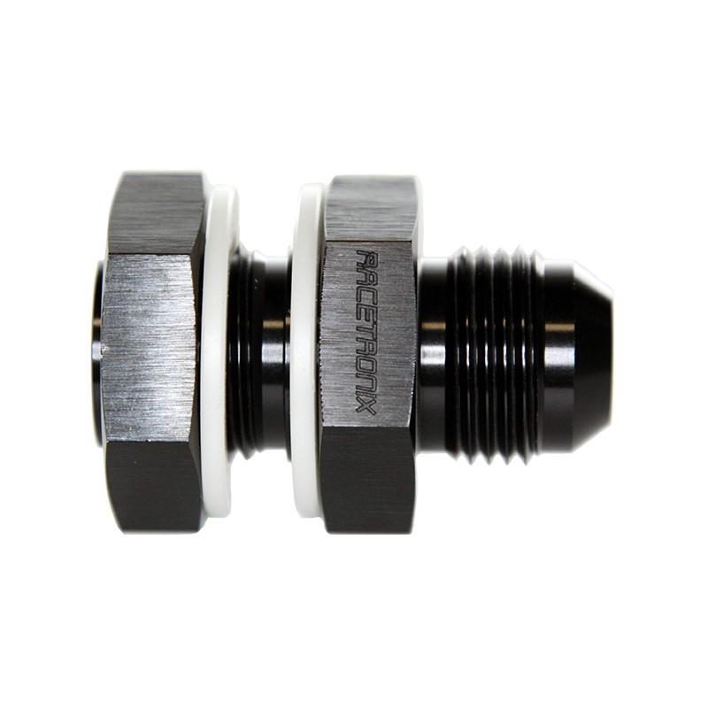 Fuel Cell Bulkhead, -10AN Male, BLACK