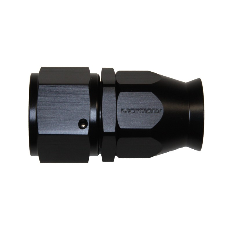 Fitting, PTFE -12AN Female, BLACK