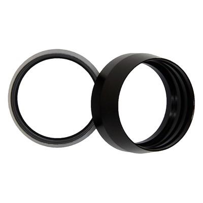 Olive, PTFE -16AN Insert, BLACK
