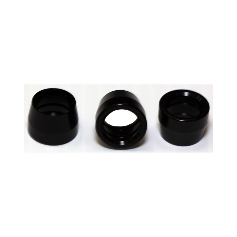 Olive, PTFE -8AN Insert, BLACK