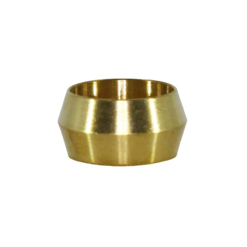"""Olive, AN6 / 3/8"""", Brass"""