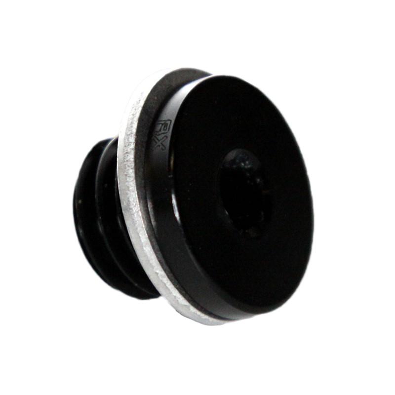 Metric Hex Plug, M12x1.75, BLACK