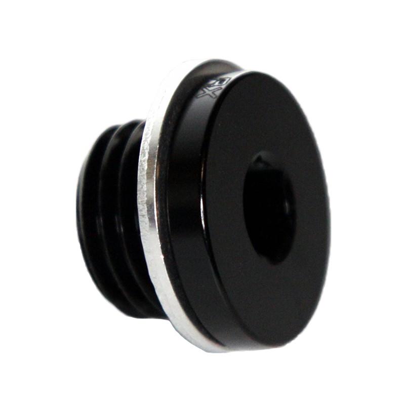 Metric Hex Plug, M14x1.25, BLACK