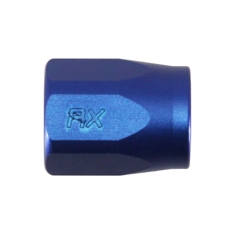 Nut, -4 Replacement, 2000-Series, BLUE