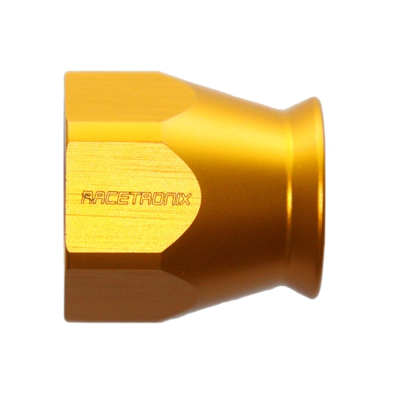 Nut, -8AN Replacement, GOLD