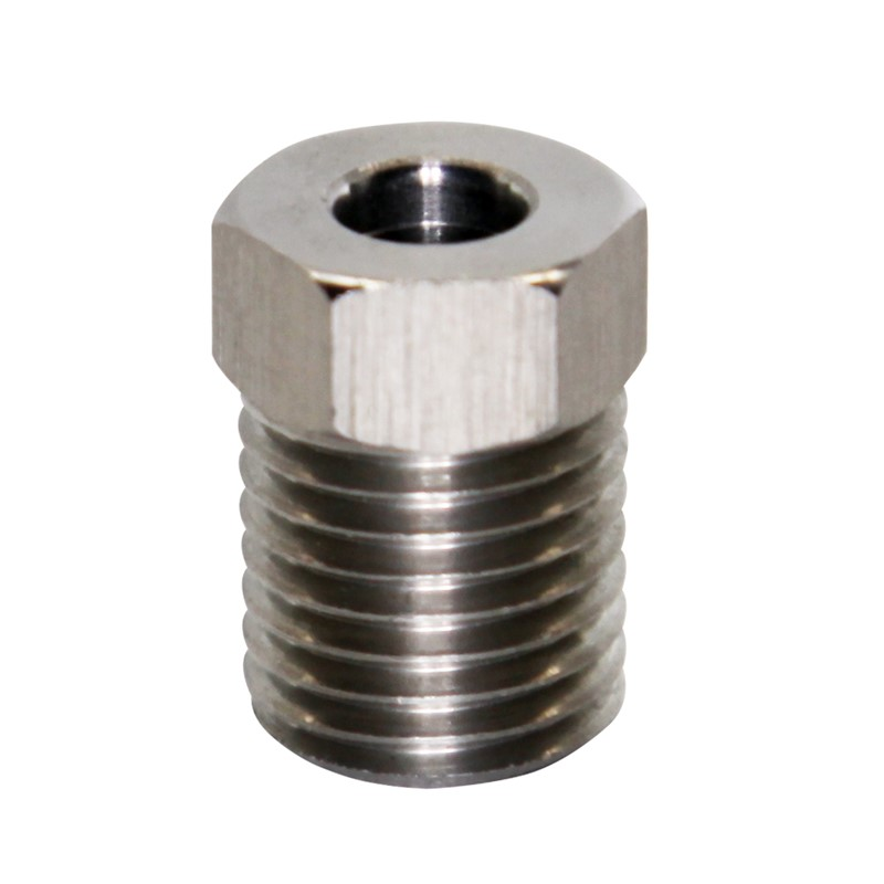 """Tube Nut, 7/16""""-20, Stainless"""