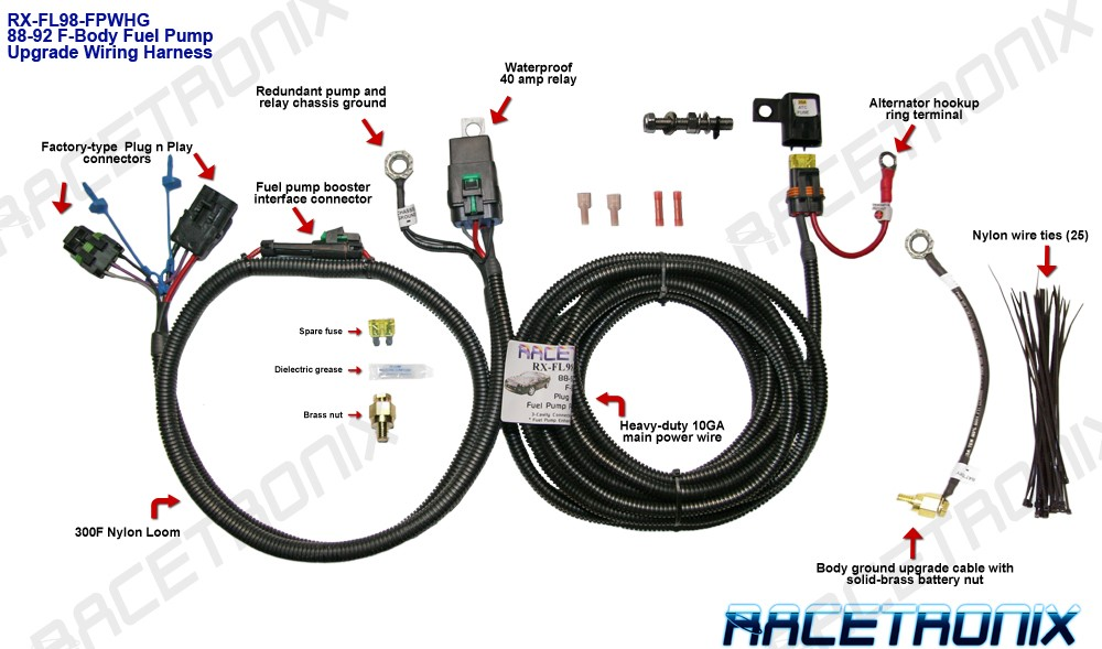 fl98 fuel pump kit  rxp255  and fuel pump kits