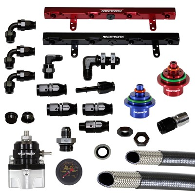 Fuel Line + Rail Kit, 2002.5-2004 C5