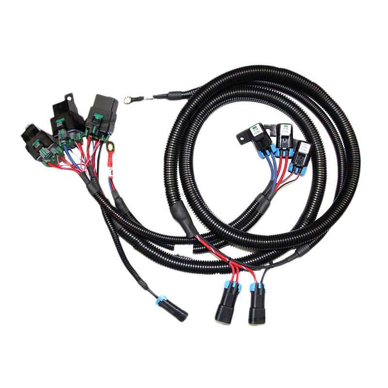 Dual Series / Parallel Fan harness * (FNWH-006): FAN WIRE