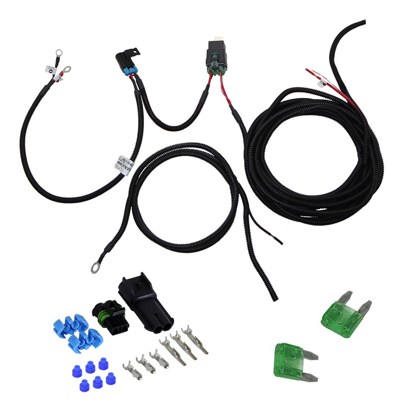 Universal HP Single Fan Harness Kit