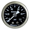 "Gauge, 100PSI, 1.5"" Liquid, WHT/SS"