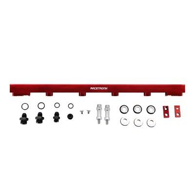 Fuel Rails, Billet Alm, Nissan RB25, RED