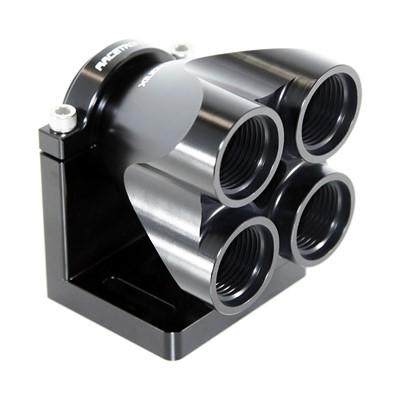 Quad Manifold, -16ORB»4x-12ORB, HAL BLK