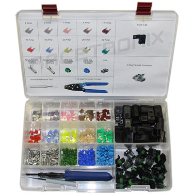 Professional Mini-Fuse + Connector Kit