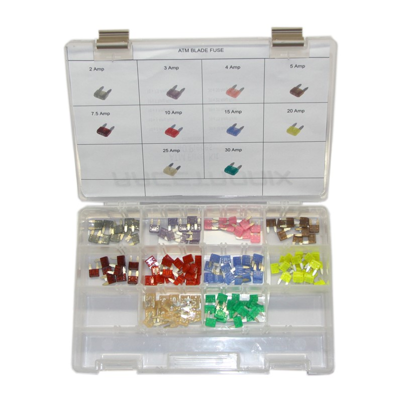 Professional Fuse Kit 150 Pcs (ATM)