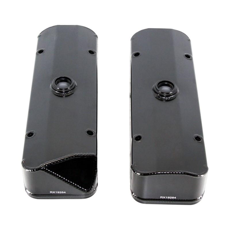 Valve Cover Kit, G7 Buick Aluminum, BLK