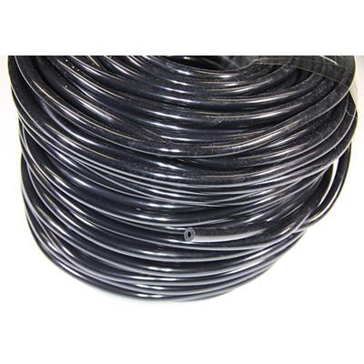 Vacuum Hose, Silicone 10.0mm ID, BLACK