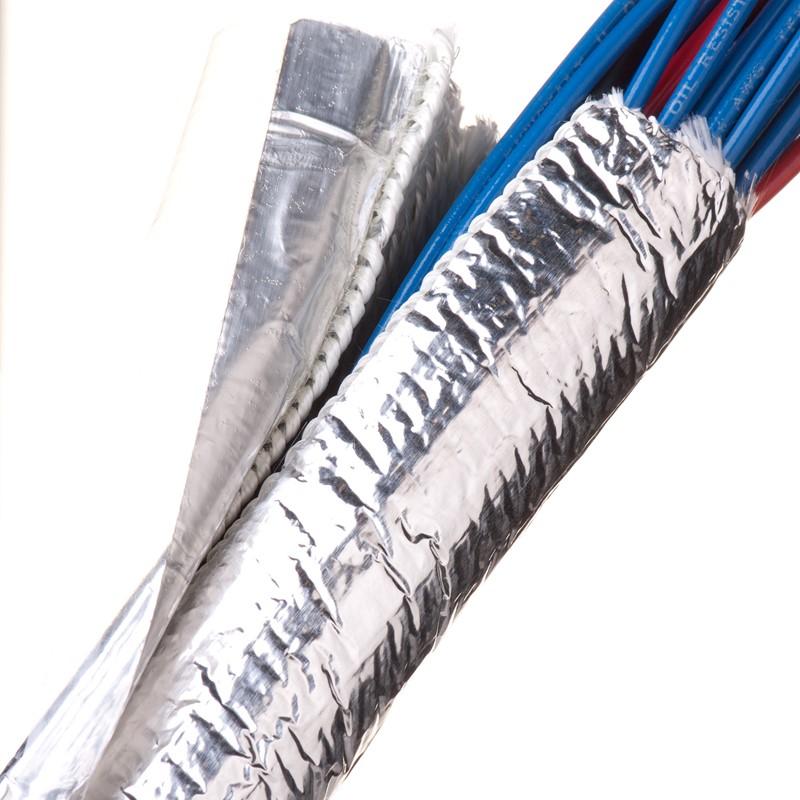 "Thermal Wrap, FG/Aluminized 4'x3/4"""