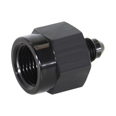 "Adapter, -3AN Male » 3/8"" FPT, BLK Image 1"