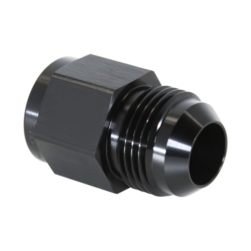 "Adapter, -12AN JIC » 1/2"" BSPF, BLACK Image 1"