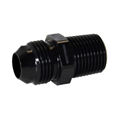 "Adapter, -10AN Male » 1/2"" MPT, BLACK Image 1"