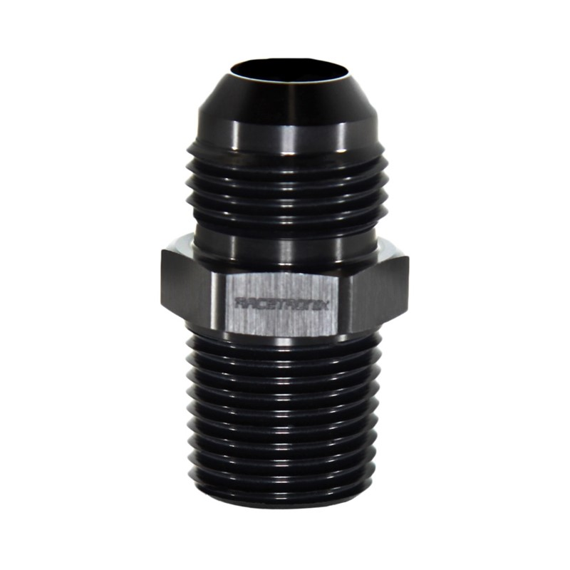"Adapter, -10AN Male » 1/2"" MPT, BLACK Image 3"