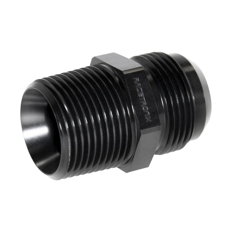 "Adapter, -16AN Male » 1"" MPT, BLACK Image 3"