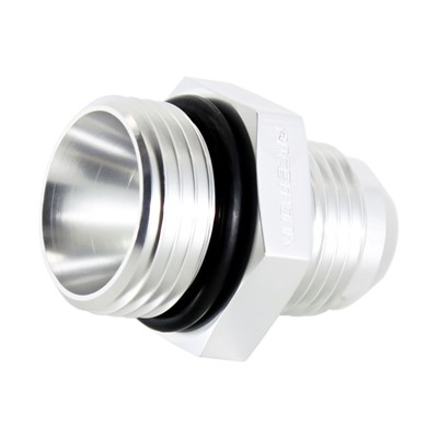 Adapter, -12 ORB Male»-10 AN Male, SLVR Image 1