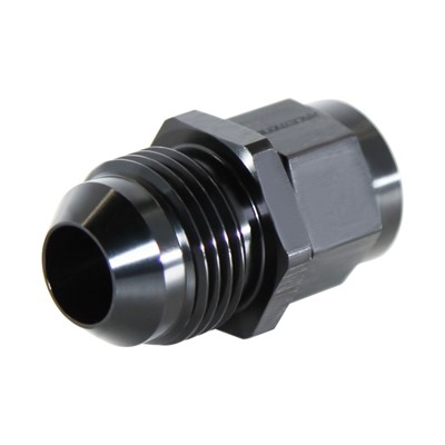 Adapter, -8AN Male » M14x1.5 Female, BLK Image 1