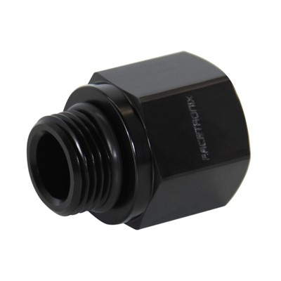 Adapter, -10 ORB Fml » -8 ORB Male BLK Image 1