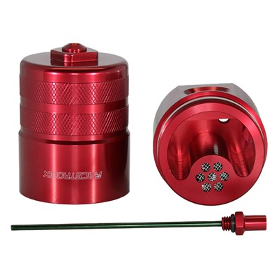 Catch Can, -10AN Dipstick, NO BKT, RED Image 4