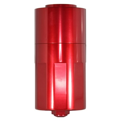 Catch Can, -10AN GV, NO BRACKET, RED Image 1