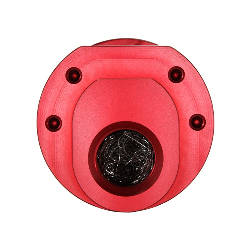Catch Can, -10AN GV, NO BRACKET, RED Image 2