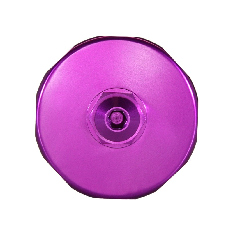Catch Can, -10AN GV, NO BRACKET, VIOLET Image 2